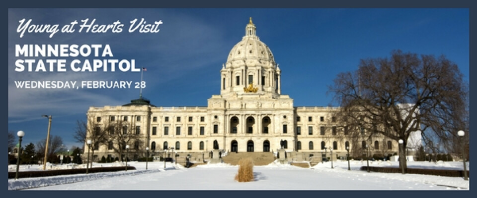 Young at Hearts Tour Minnesota State Capitol