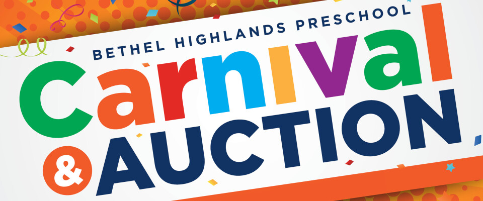 Bethel Highlands Preschool Carnival & Auction