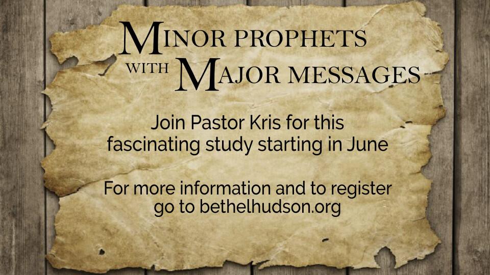 Minor Prophets, Major Messages