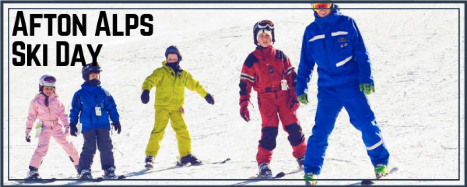 Afton Alps Ski Day