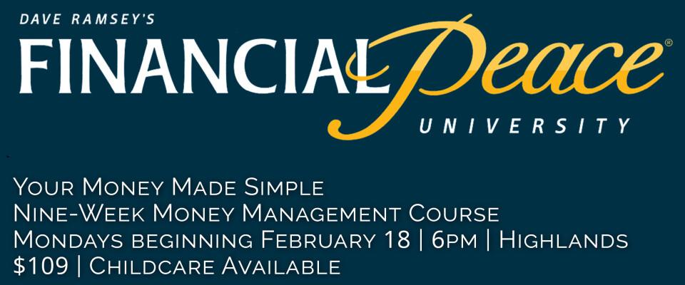 Financial Peace University at Bethel