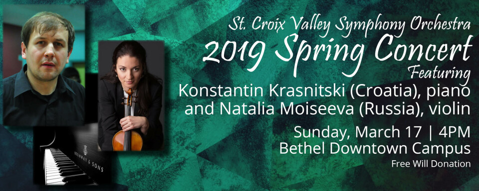 St. Croix Valley Symphony Orchestra 2019 Spring Concert