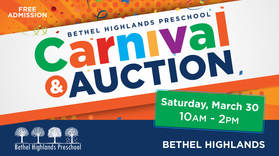 Bethel Highlands Preschool Carnival & Auction 2019