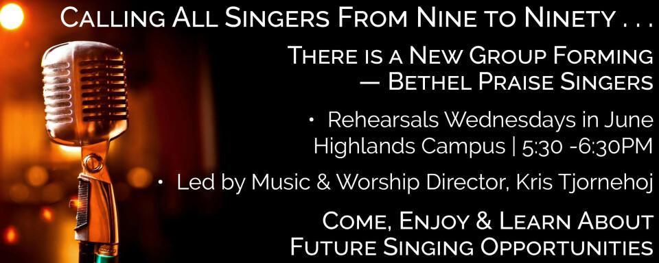 "Praise Choir ""Rejoice"""