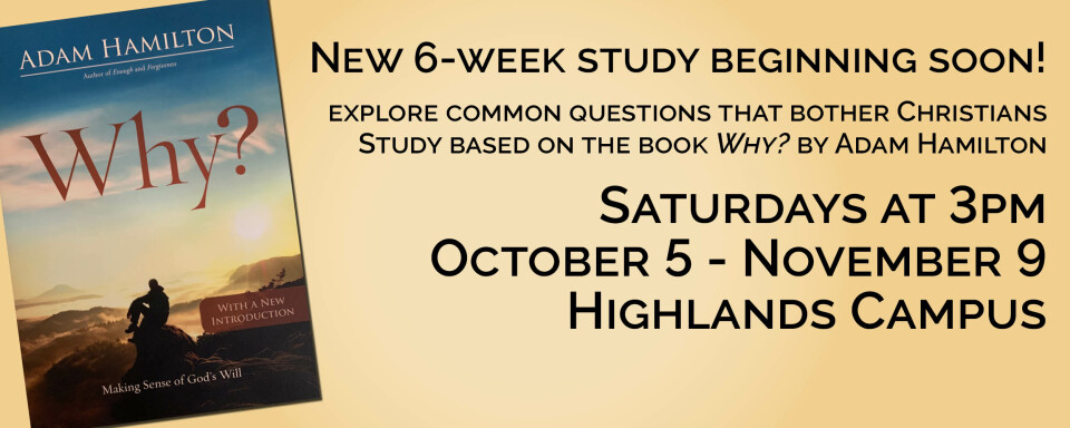 """New Study based on the book """"Why?"""""""