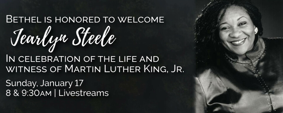 Martin Luther King, Jr. Celebration/Remembrance featuring Jearlyn Steele 2021